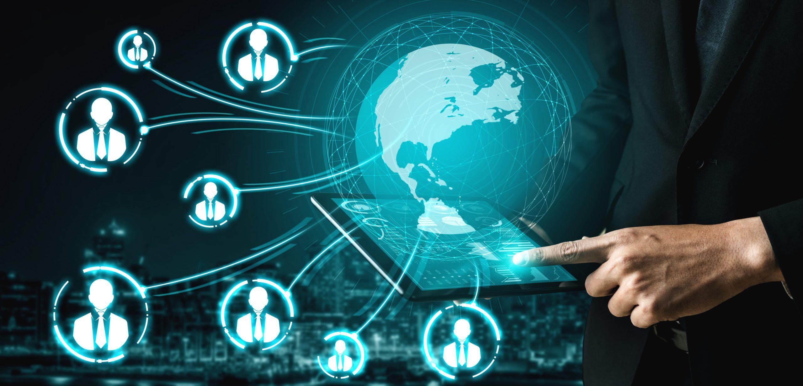 Transformación digital interconexión