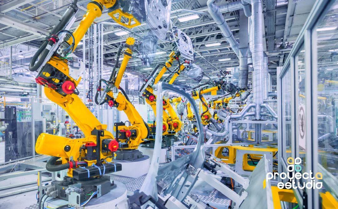 Robótica en la industria, la producción eficiente