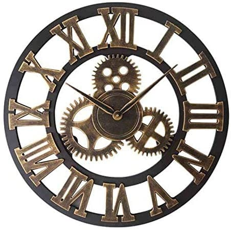 Un reloj de engranajes puede ser una opción original para Navidad