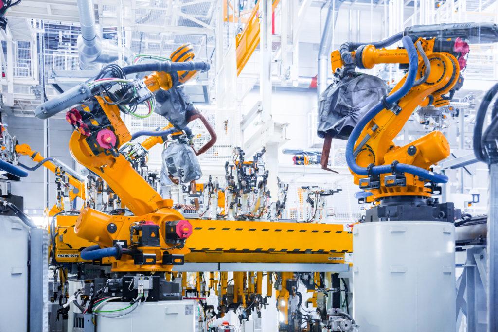 robótica industrial en la industria 4.0
