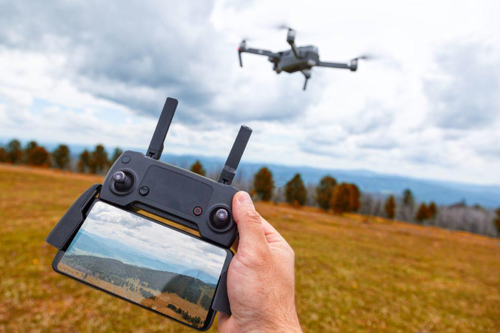 drones e inteligencia artificial