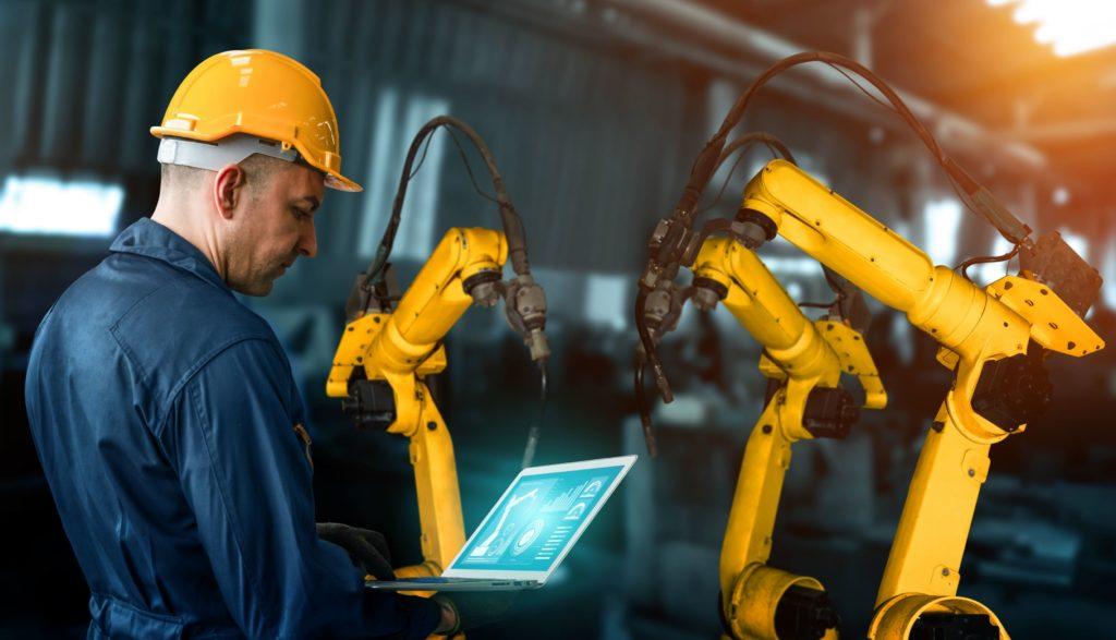 robots industriales, automatizacion inteligente
